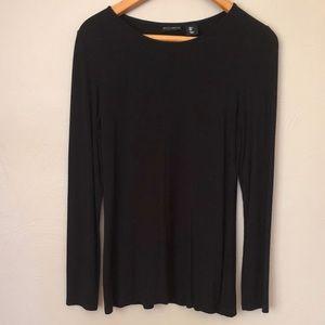 Willi Smith Black Long Sleeve Shirt S